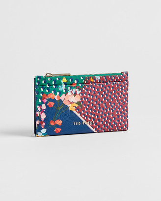 Ted Baker HASSIEE Leather Peppermint card holder