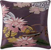 "Tracy Porter Fiona 16"" x 16"" Square Embroidered Decorative Pillow Bedding"