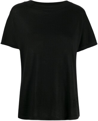 Barrie fine knit T-shirt