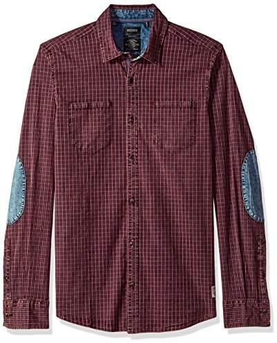 3d9088c2 Men's Sagaw Long Sleeve Full Button Down Shirt