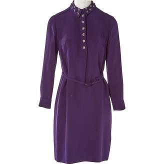 Prada Purple Silk Dresses