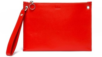 behno Lily Pouch Nappa Red