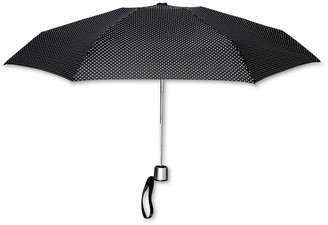 ShedRain Manual Compact Umbrella - Polka Dot
