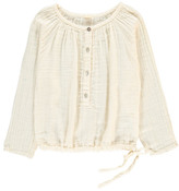 Numero 74 Naia Long Sleeve Blouse Off white