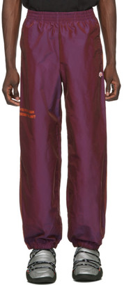 adidas by Alexander Wang Purple You For E Yeah Exceed The Limit Track Pants