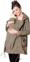 Sweet Mommy Multi Use Mother Anorak Jacket with baby pouch BKS
