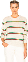Etoile Isabel Marant Goya Striped Alpaca Knit Sweater