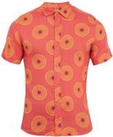 OKUN Sankara circle-print linen shirt