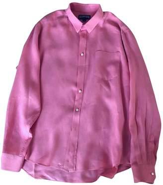 Vilebrequin Pink Linen Shirts