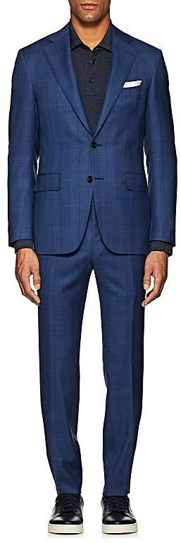 Canali Men's Capri Plaid Wool Two-Button Suit