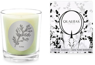 Qualitas Candles Cedar Scented Beeswax Candle