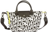 Longchamp Logo All-over Print Tote