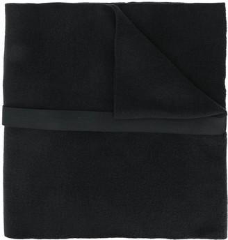 Julius strap-detail oversized scarf