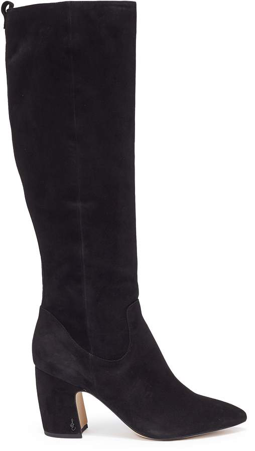 Sam Edelman 'Hai' stretch suede knee high boots