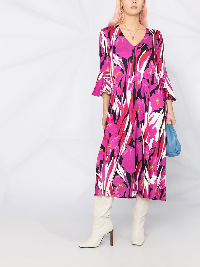 Thumbnail for your product : La DoubleJ 9 To 5 Printed Dress