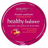 Bourjois Healthy Balance Unifying Compact Powder for Women, # 53 Beige Clair, 0.32 Ounce