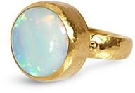 Gurhan 24K Yellow Gold Opal Ring