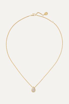 Boucheron Serpent Boheme 18-karat Gold Diamond Necklace