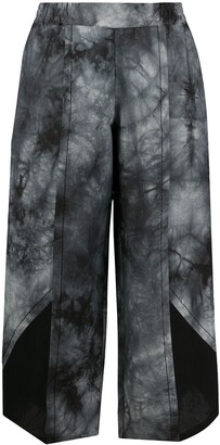 stagni 47 Cropped Tie-Dye Trousers