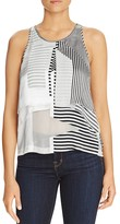 Elizabeth and James Cassis Stripe Tank