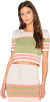 MinkPink Market Crop Top