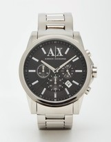 Armani Exchange Stainless Steel Watch Ax2084 - Silver