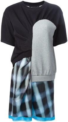 Marc by Marc Jacobs patchwork T-shirt dress