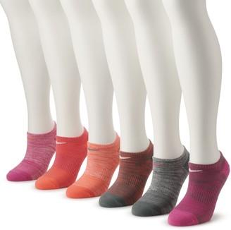 Nike Women's 6-Pack No-Show Performance Socks