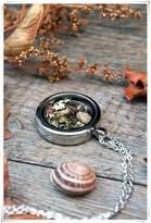 Flowers Botanical Pendant, Terrarium Necklace, Locket Charm Necklace,real Moss Necklace, Vial, Glass Locket, Woodland