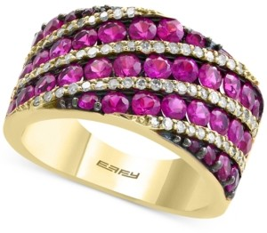 Effy Amore by Certified Ruby (2-3/4 ct. t.w.) and Diamond (1/3 ct. t.w.) Ring in 14k Gold