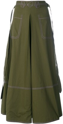 Marni Contrast Stitch Skirt