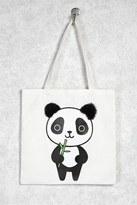 Forever 21 Panda Graphic Tote Bag