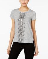 MICHAEL Michael Kors Snake-Print T-Shirt