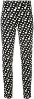 D-Exterior D.Exterior - embroidered skinny trousers - women - Cotton/Elastodiene/Polyamide - XXL