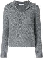 Fabiana Filippi classic knitted sweater - women - Polyamide/Merino - 44