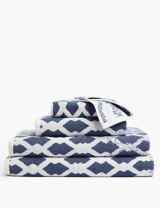 Marks and Spencer Pure Cotton Rope Print Towel