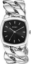 DKNY Women's 'Chanin' Quartz Stainless Steel Casual Watch, Color:-Toned (Model: NY2566)