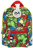 Babymel Zip & Zoe Mini Backpack & Safety Harness - Dino Multi