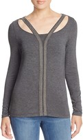 Design History Cutout Neck Sweater - 100% Bloomingdale's Exclusive