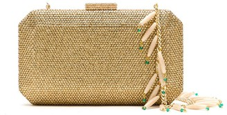 Serpui Marie Crystal Embellished Clutch