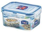 Lock & Lock Rectangular Storage Container - Clear/Blue, 470 ml