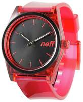 Neff NF0237-D Men's Daily Ice Polyurethane Band Black Dial Smart Watch .