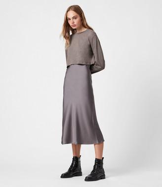 AllSaints Benno 2-In-1 Dress