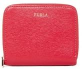 Furla Classic Zip Around Saffiano Leather Wallet