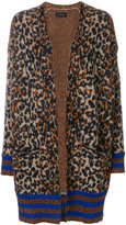 By Malene Birger leopard knit cardigan