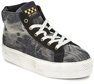 No Name SHAKE MID CUT women's Shoes (High-top Trainers) in Grey