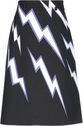 Prada Knee length skirts