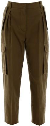 Alexander McQueen Cropped Cargo Pants