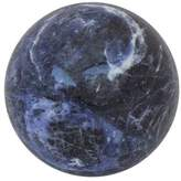 Fair Trade Sodalite Gemstone Sculpture, 'Blue Planet'