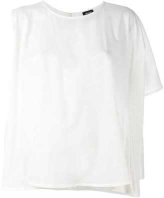 Armani Jeans asymmetric T-shirt